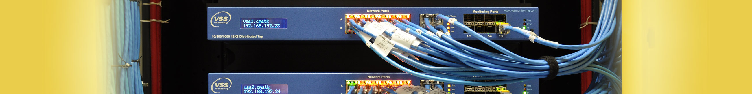 network ports, network monitoring