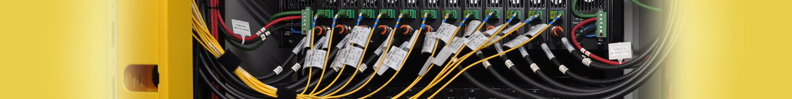 structured wiring, patch cords, data rack wiring, organize wiring
